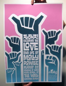 Molly Paddle Out Poster